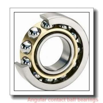 40 mm x 90 mm x 23 mm  NKE QJ308-MPA angular contact ball bearings