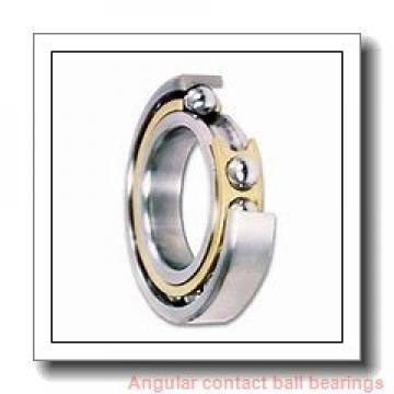 25 mm x 62 mm x 27,4 mm  SNR GB12021 angular contact ball bearings
