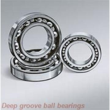 6 mm x 13 mm x 5 mm  NMB LF-1360ZZ deep groove ball bearings