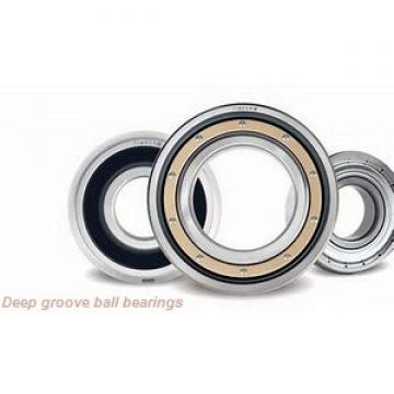 17 mm x 35 mm x 10 mm  KBC 6003UU deep groove ball bearings