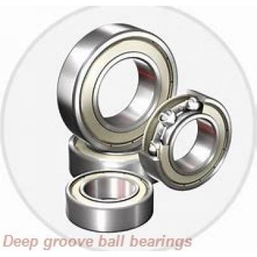 30 mm x 72 mm x 19 mm  ZEN P6306-SB deep groove ball bearings
